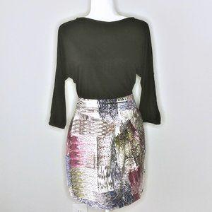 Ali Ro Combo Print Dress - Size 8